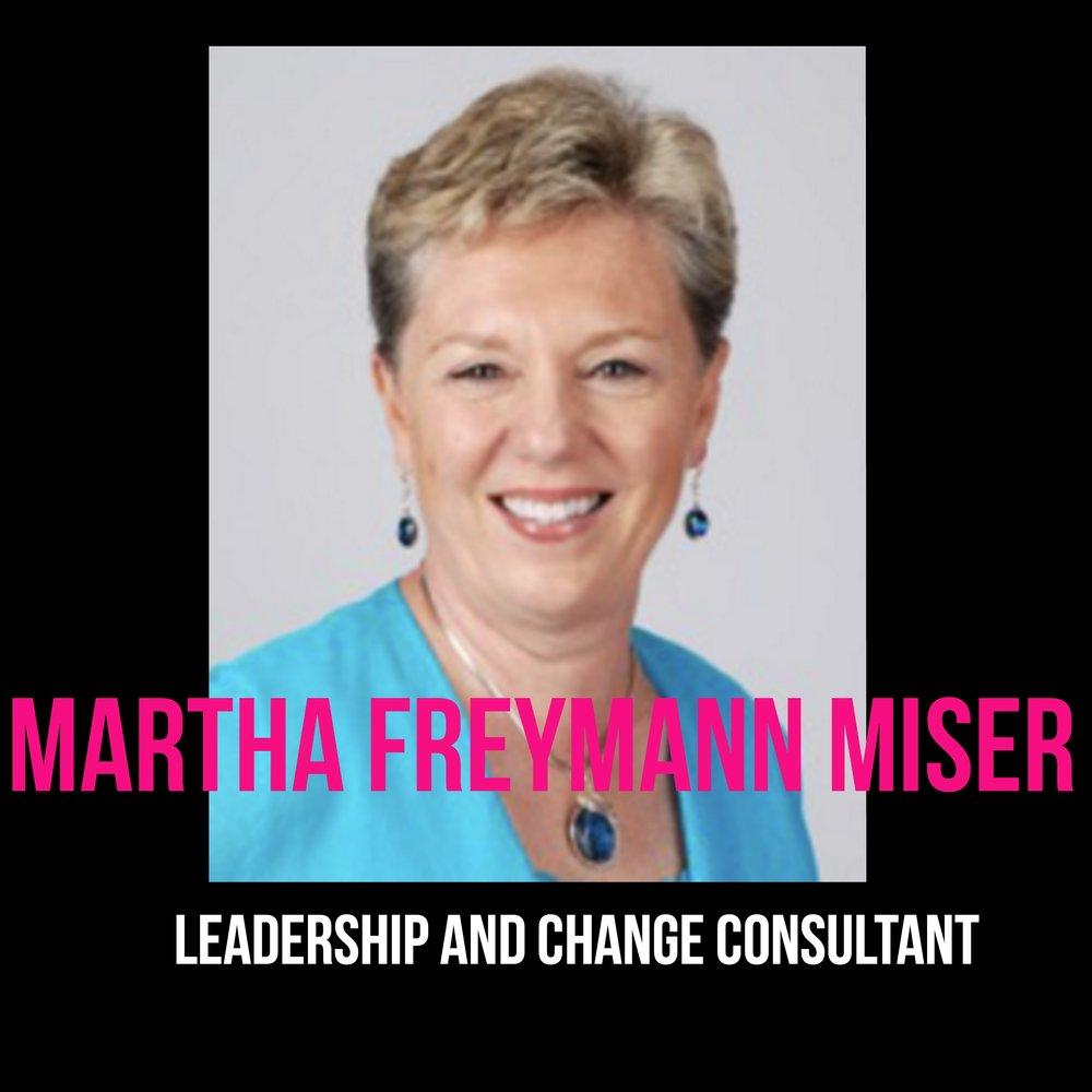 THE JILLS OF ALL TRADES™ Martha Freymann Miser Leadership Change Consultant