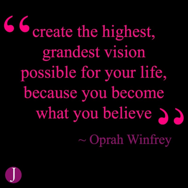 become what you believe quote- THE JILLS OF ALL TRADES™