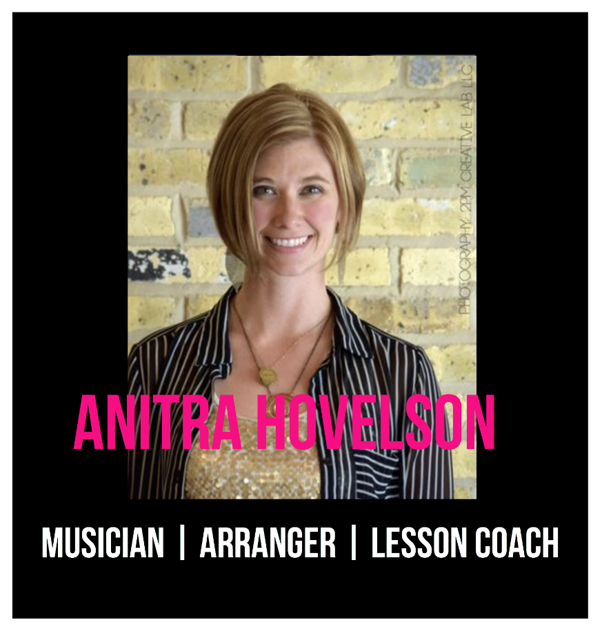 THE JILLS OF TRADES™ Anitra Hovelson Musician Arranger Lesson Coach