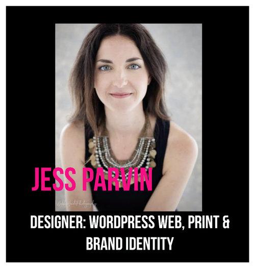 THE JILLS OF ALL TRADES™ member: Jess Parvin Designer: Graphics, Wordpress, Print & Brand Identity