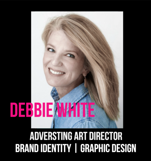 THE JILLS OF ALL TRADES™ member, Debbie White Art Director Frank + Candor Seattle, WA