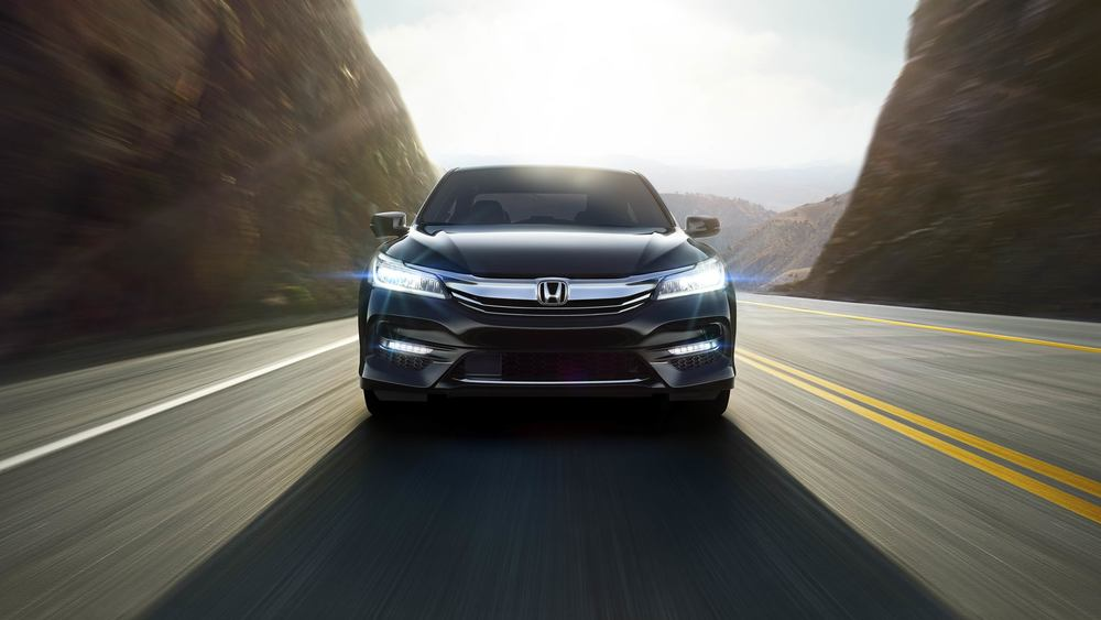 2016 Honda Accord's defined front end