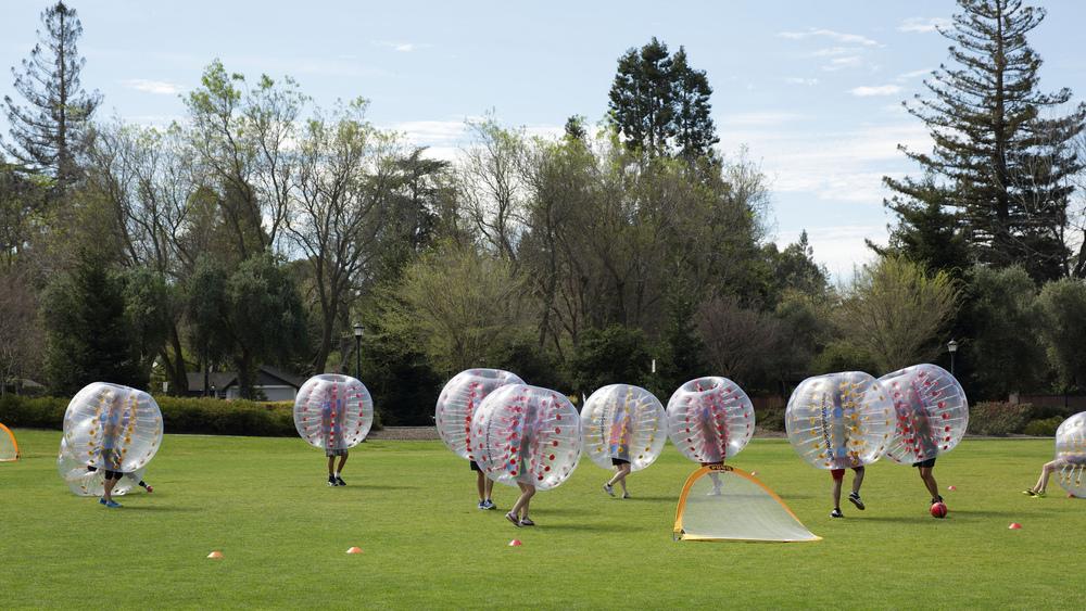 """ Bubble Soccer ""( CC BY 2.0 )by  John Loo"