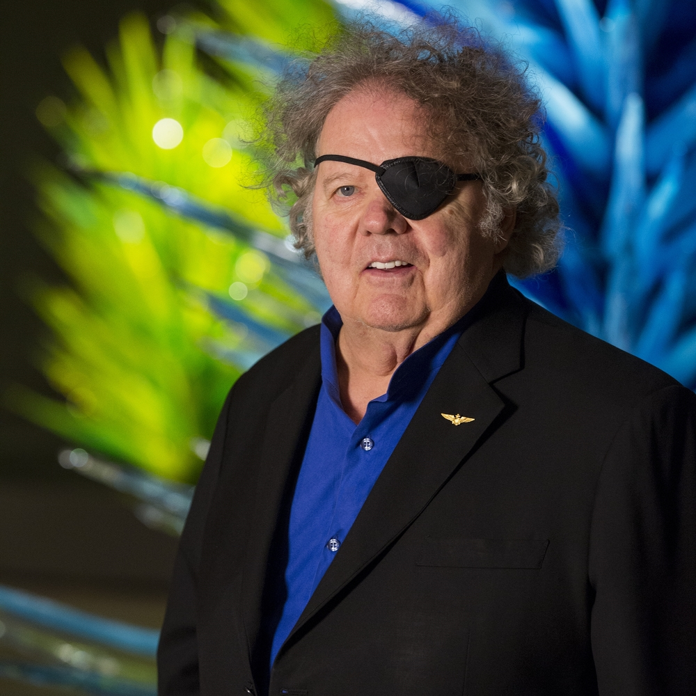 Dale Chihuly (Courtesy of ROM)