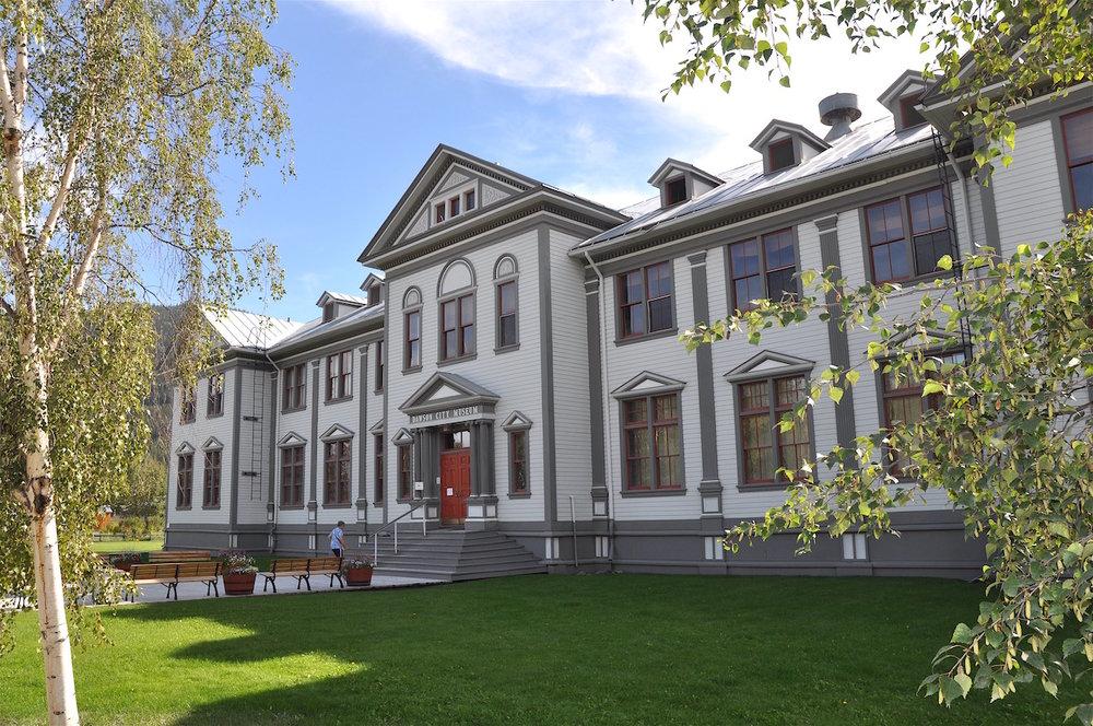 The Dawson City Museum.