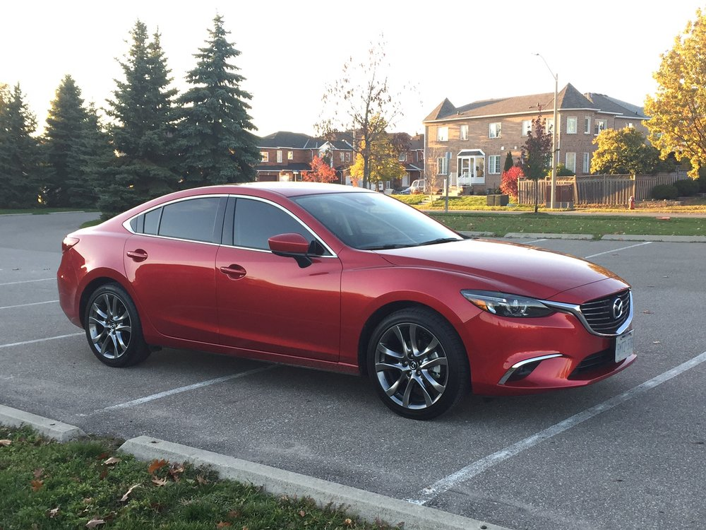 modern motoring 6 takeaways from the 2017 mazda 6 gt modern mississauga media. Black Bedroom Furniture Sets. Home Design Ideas