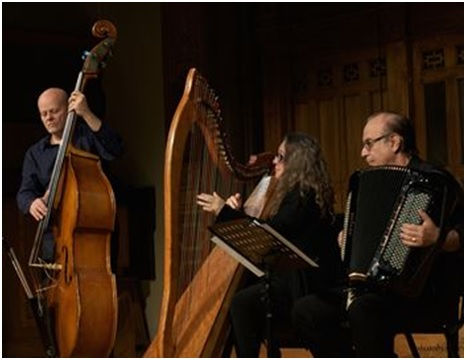 Winter's Eve Trio in the Riverwood barn in 2016 as part of the Summer Concert series