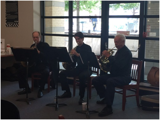Out & About Concert at Central Library (2016) French Horn Trio
