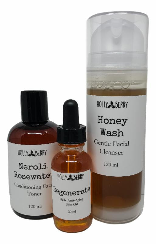 The NaturalistA Craftadian favourite, this all natural skincare set by Holly Berry Body, made in small batches, not only nourishes skin but helps protect and tighten up skin's appearance of fine lines. Toner, serum and face wash trio, $50.