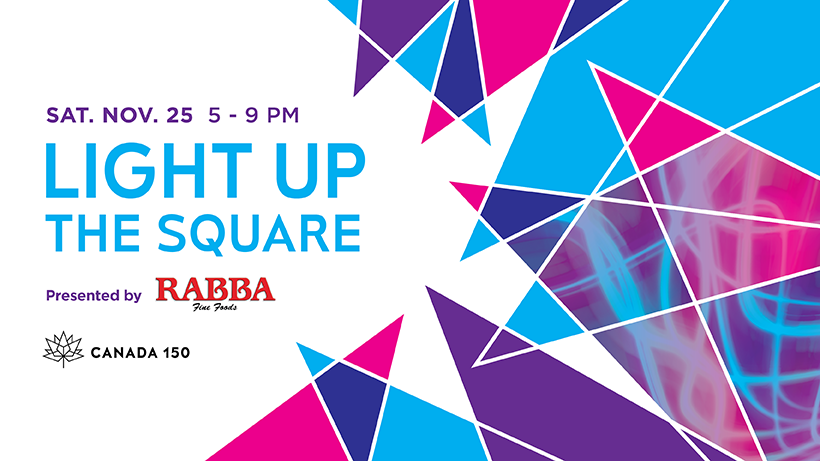131e2693d Everything you need to know about the Light Up The Square event At  Celebration Square — Modern Mississauga Media