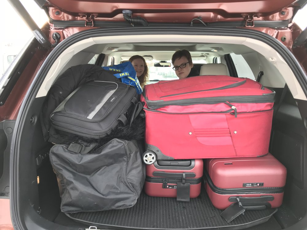 Packing up the Ford Explorer_Credit_Jennifer Merrick (1).JPG