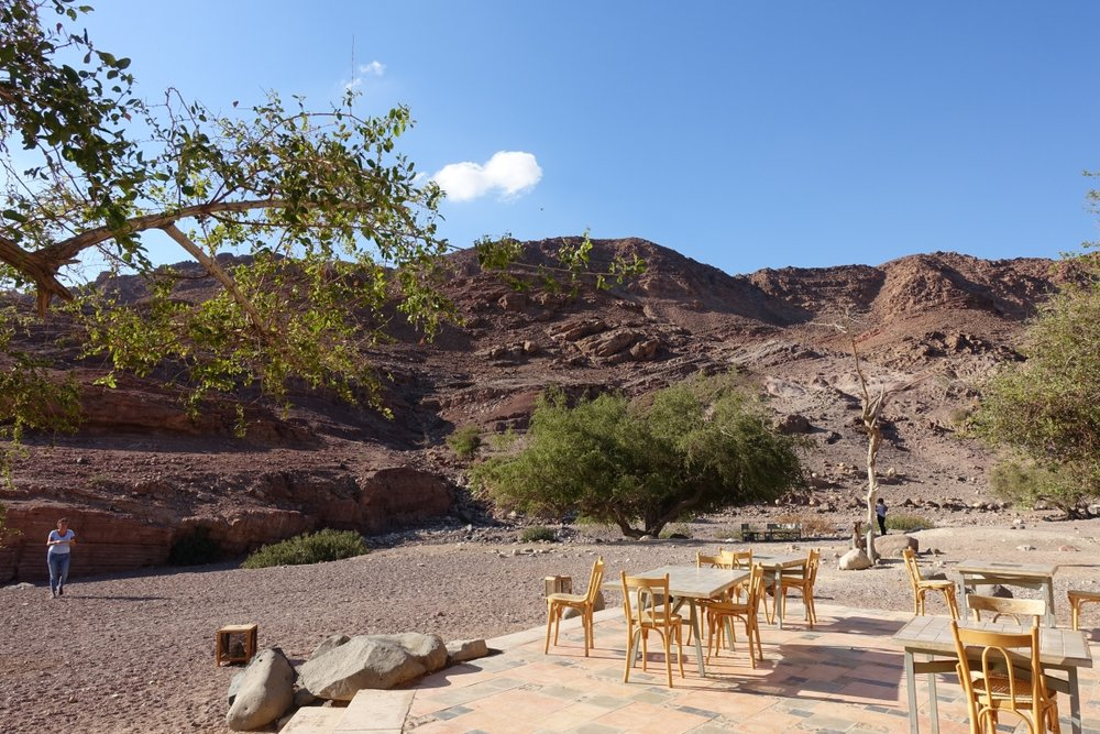 Canyons surrounding the Feynan Ecolodge @ Brigitte HasbronPhoto by Brigitte Hasbron
