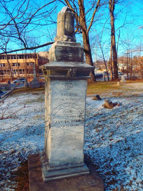 War of 1812 - William Thompson - St Judes Cemetery, Oakville.JPG