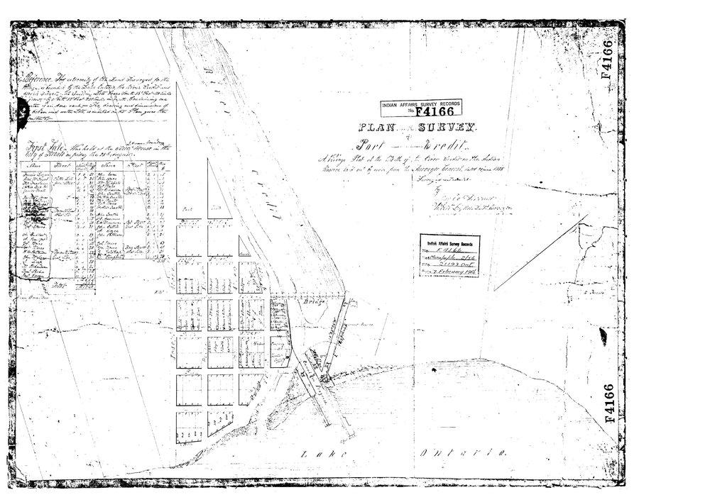 Robert Lynn Survey Plan - Port Credit - 1835.jpg