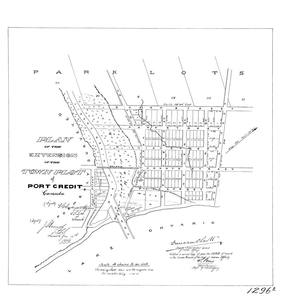 Survey Plan - Port Credit - 1846.jpg