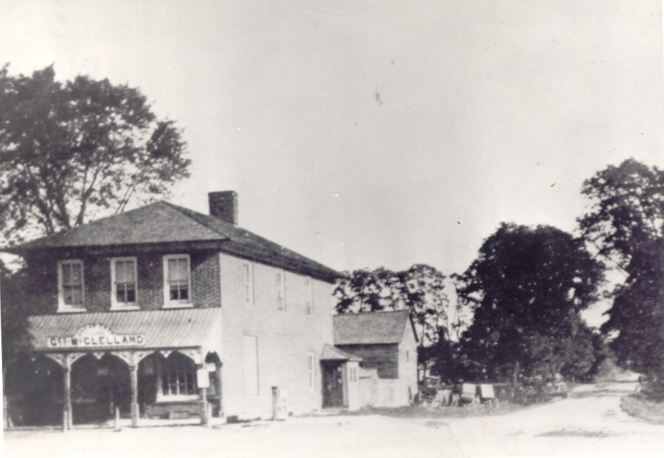 Cooksville - Hurontario Street South - McClelland Store, c1900