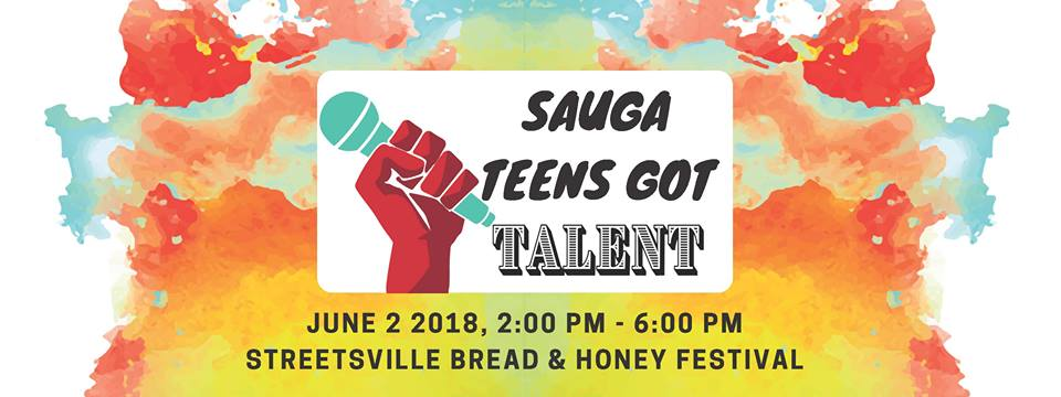 Sauga Teens Got Talent Singing Competition at the 2018 Streetsville Bread & Honey Festival