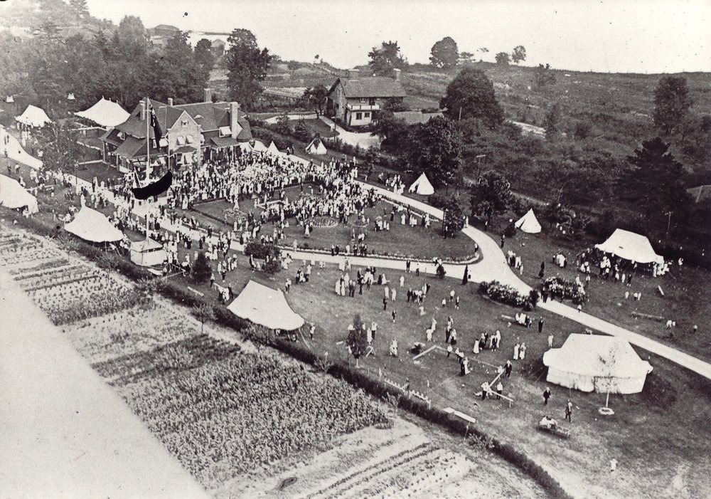 Victory Party at Ben Machree, Hobberlin Estate, August 4, 1919, Port Credit.jpg