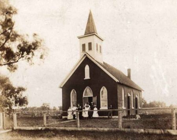 St. Peter's Roman Catholic Church c1920.jpg