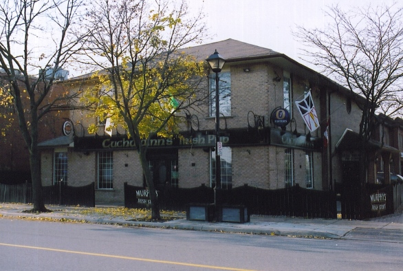 Cuchlainn's Irish Pub, Streetsville, formerly Minerva's Bower, built c1832.