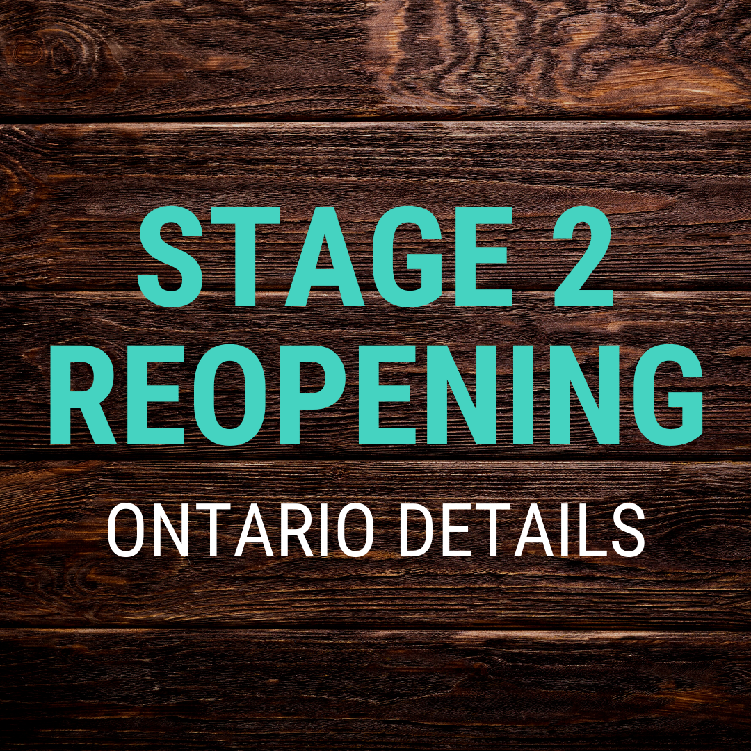 Here S What Stage 2 S Regional Approach Includes For Ontario In Response To Covid 19 Modern Mississauga Media