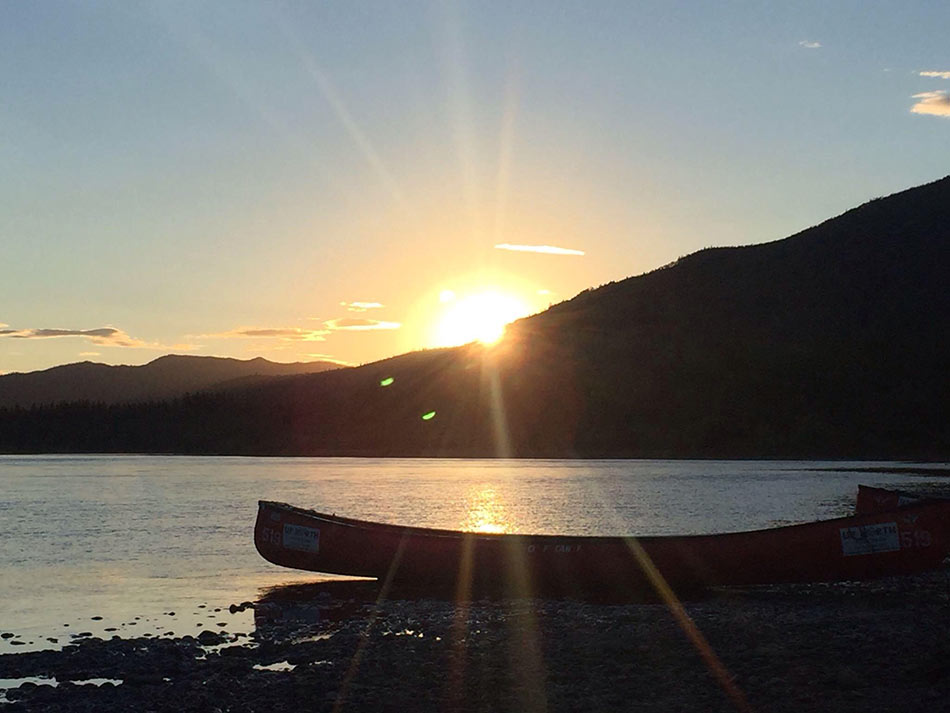 Yukon Summer Season - Summer is June to August. The sun barely sets. People are full of energy. Days can be hot, and the evenings cool off.