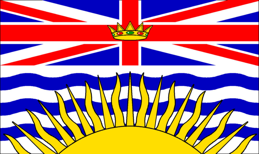 British Columbia - BC Flag