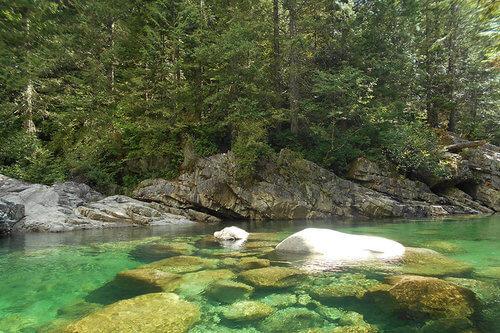 Beautiful BC nature camp