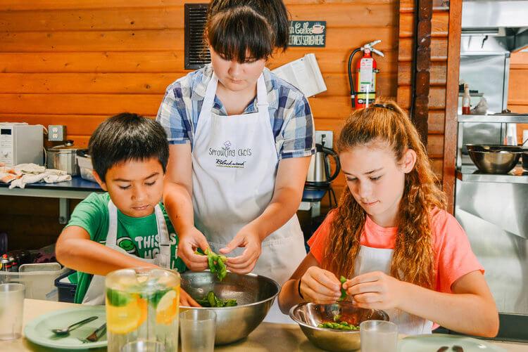 Kids gourmet cooking class