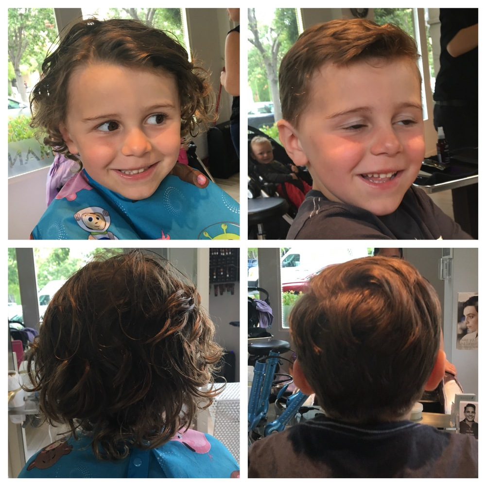Kids Haircut - :-)