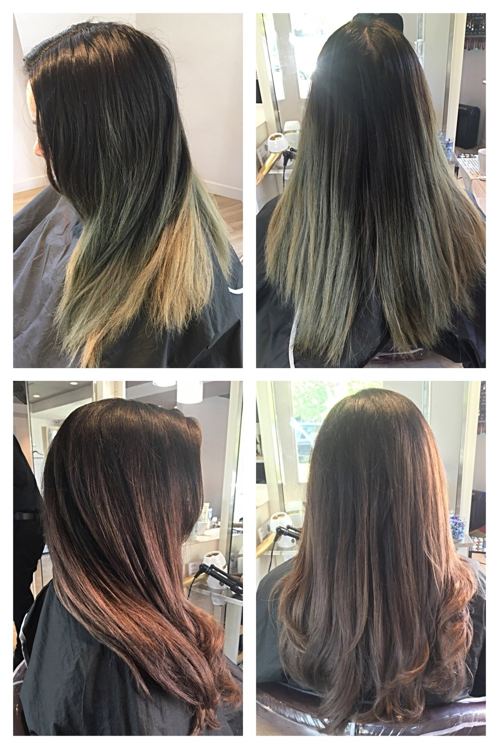 Color Correction - Using Aveda
