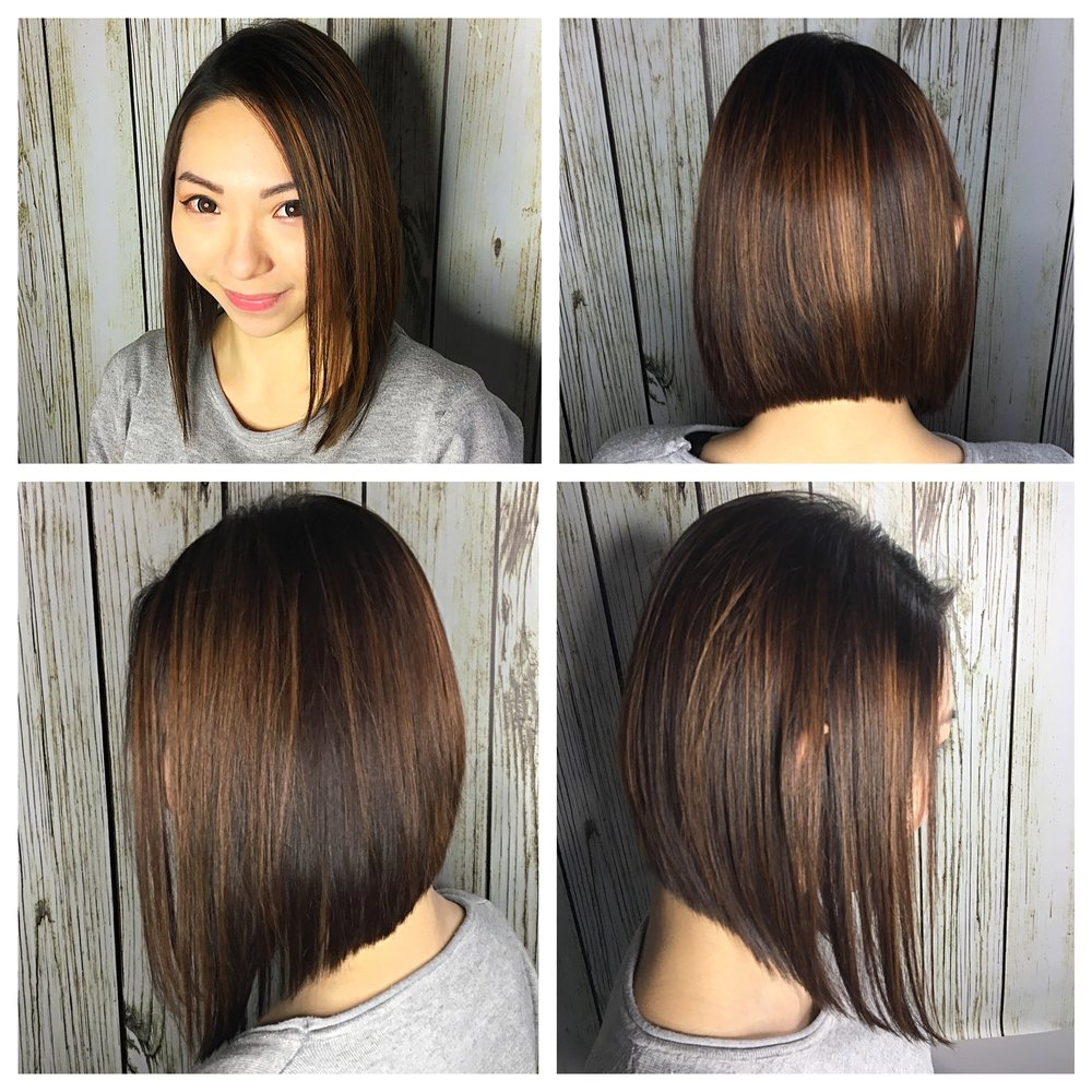 Clean Bob with Layers