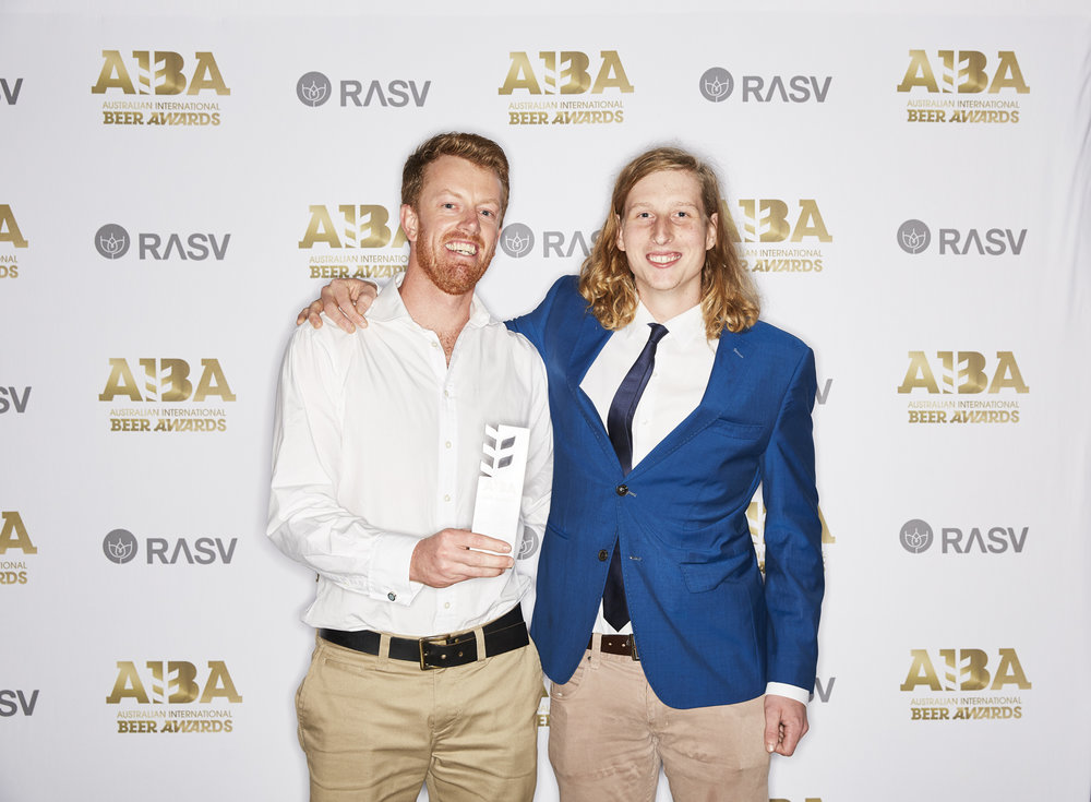Grant & Dennis looking very stoked to be picking up Best International Pale Ale