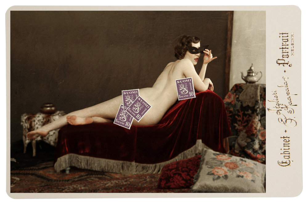 5. Boudoir VII - (The stamps are just for web use only)