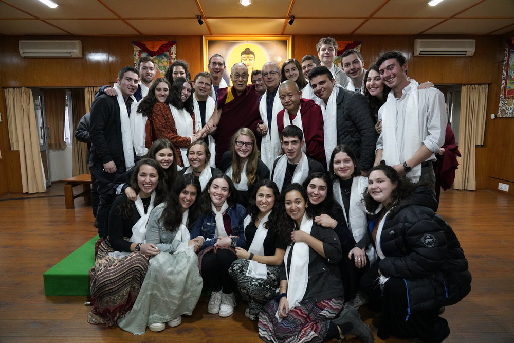 Some of KIVUNIM with His Holiness, 2/12/18 and below...
