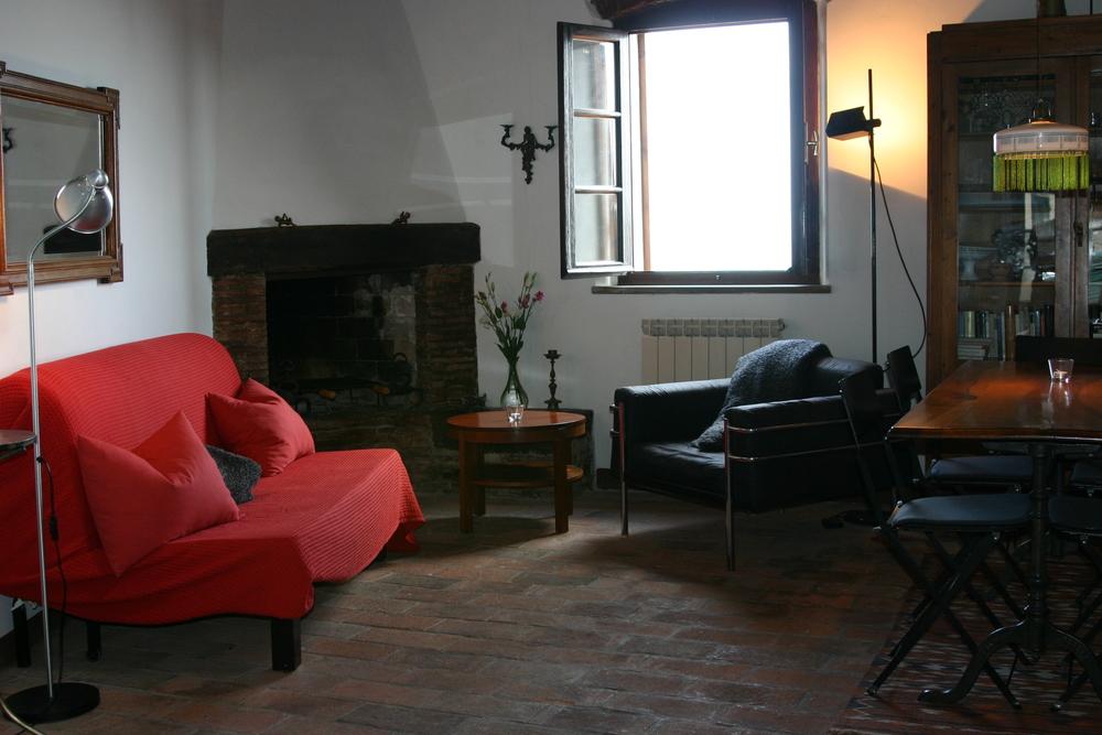"""Wohnzimmer Wohnung """"Ausblick"""""""