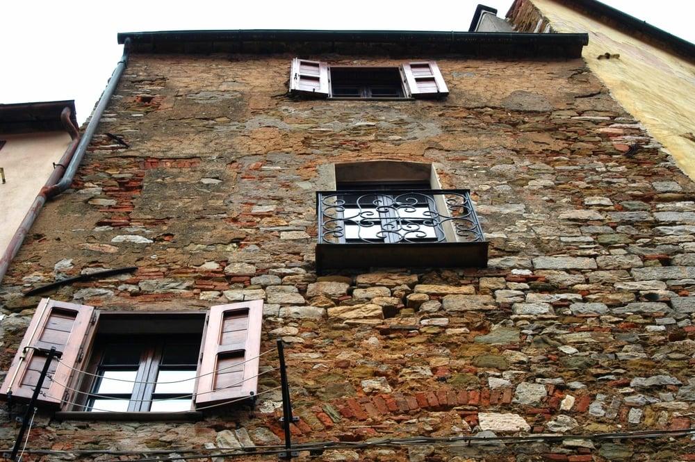 Hintere Hausfront in Alstadtgasse