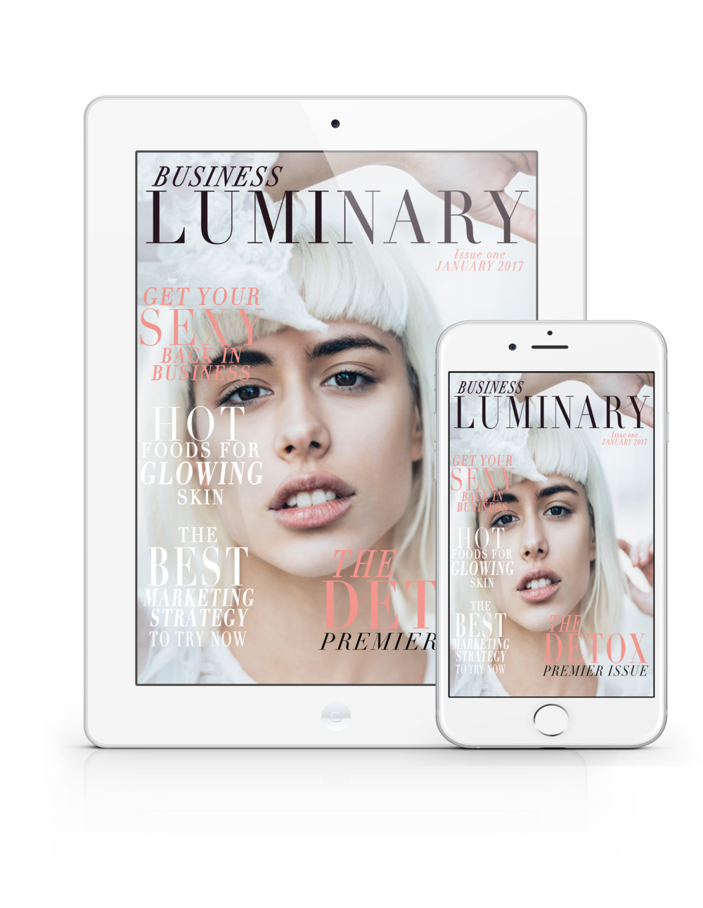 The Business Luminary Magazine, positioning, holistic  health strategies, personal style