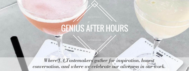 Genius Live LA, meetup, women's networking, los angeles meetup