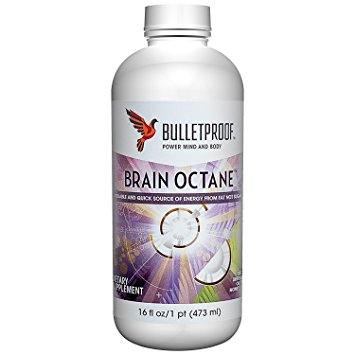 Bulletproof brain octane coconut oil