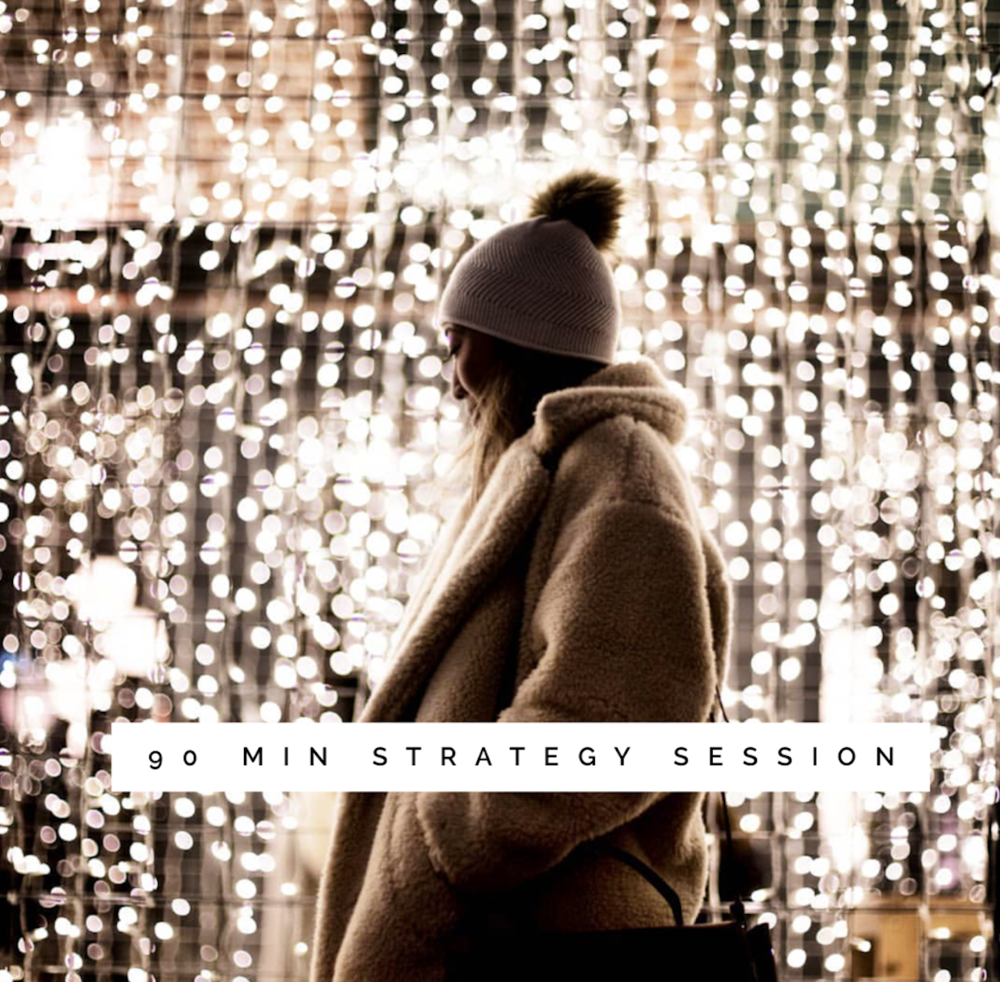 90 Minute Strategy Session - #marketing #business #entrepreneur