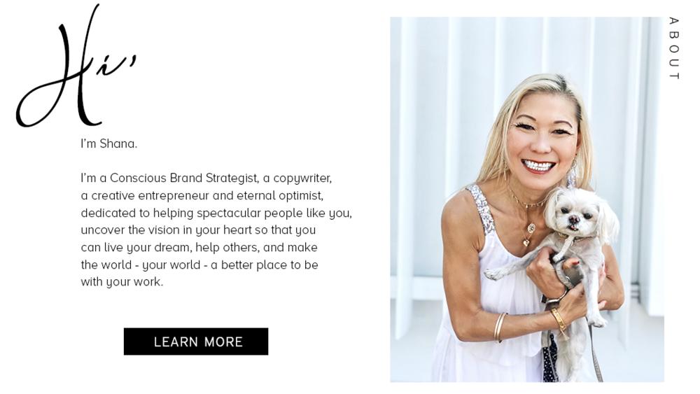 Shana Yao, total genius, brand strategy, conscious branding