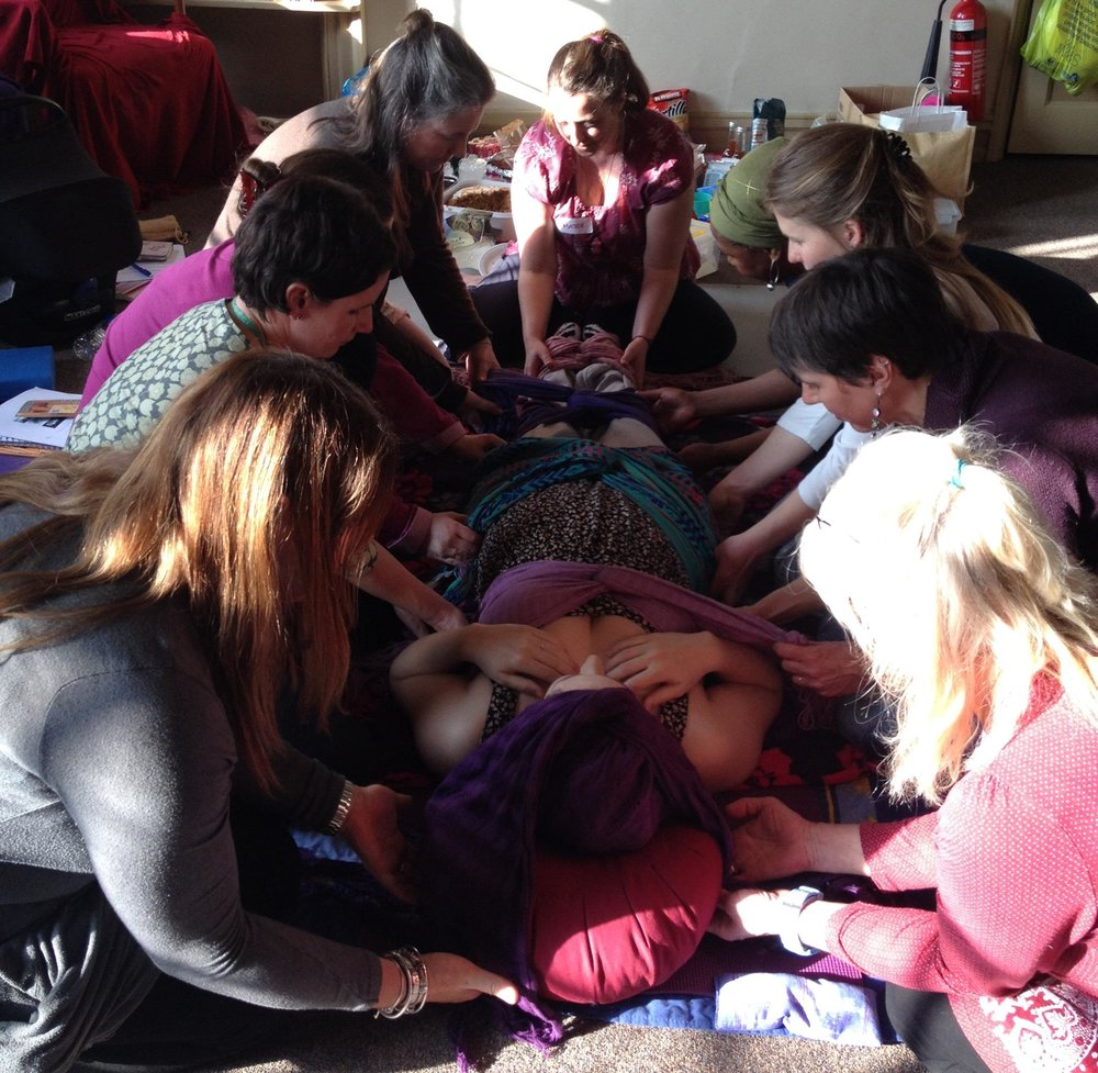 Closing of the Bones - A postnatal healing massage ceremony celebrating a woman's journey into motherhood