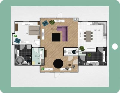 Salt Series // Design Your Family Room // Floor Plan — Pure Salt