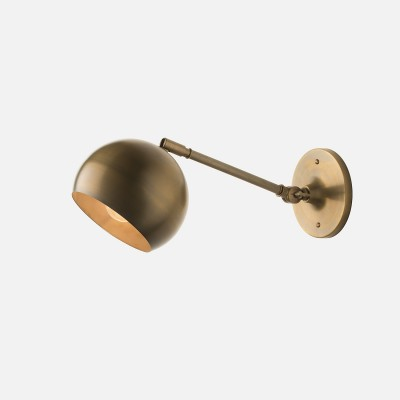 SCHOOLHOUSE ELECTRIC // ISAAC SCONCE BRASS