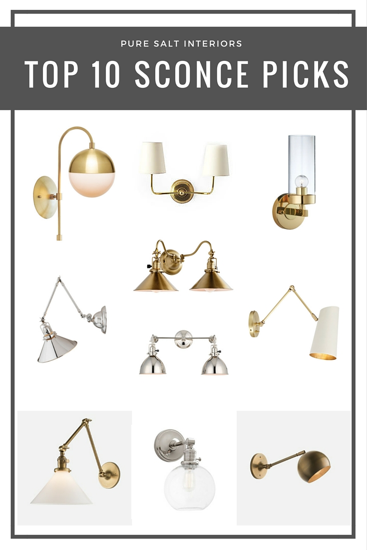 Top 10 Sconce Picks