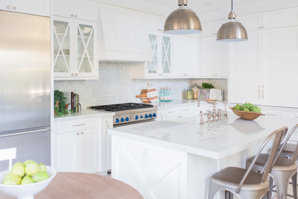 Design: Pure Salt Interiors, Photography: Steph Anderson Countertops: Carrara Marble