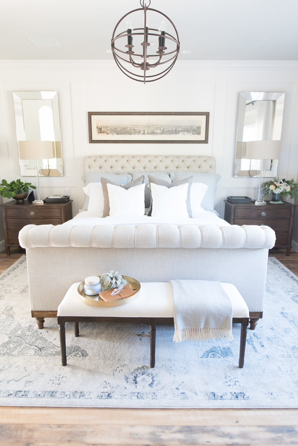 TALEGA BEACH HOUSE // Master Bedroom — PURE SALT INTERIORSPURE SALT ...