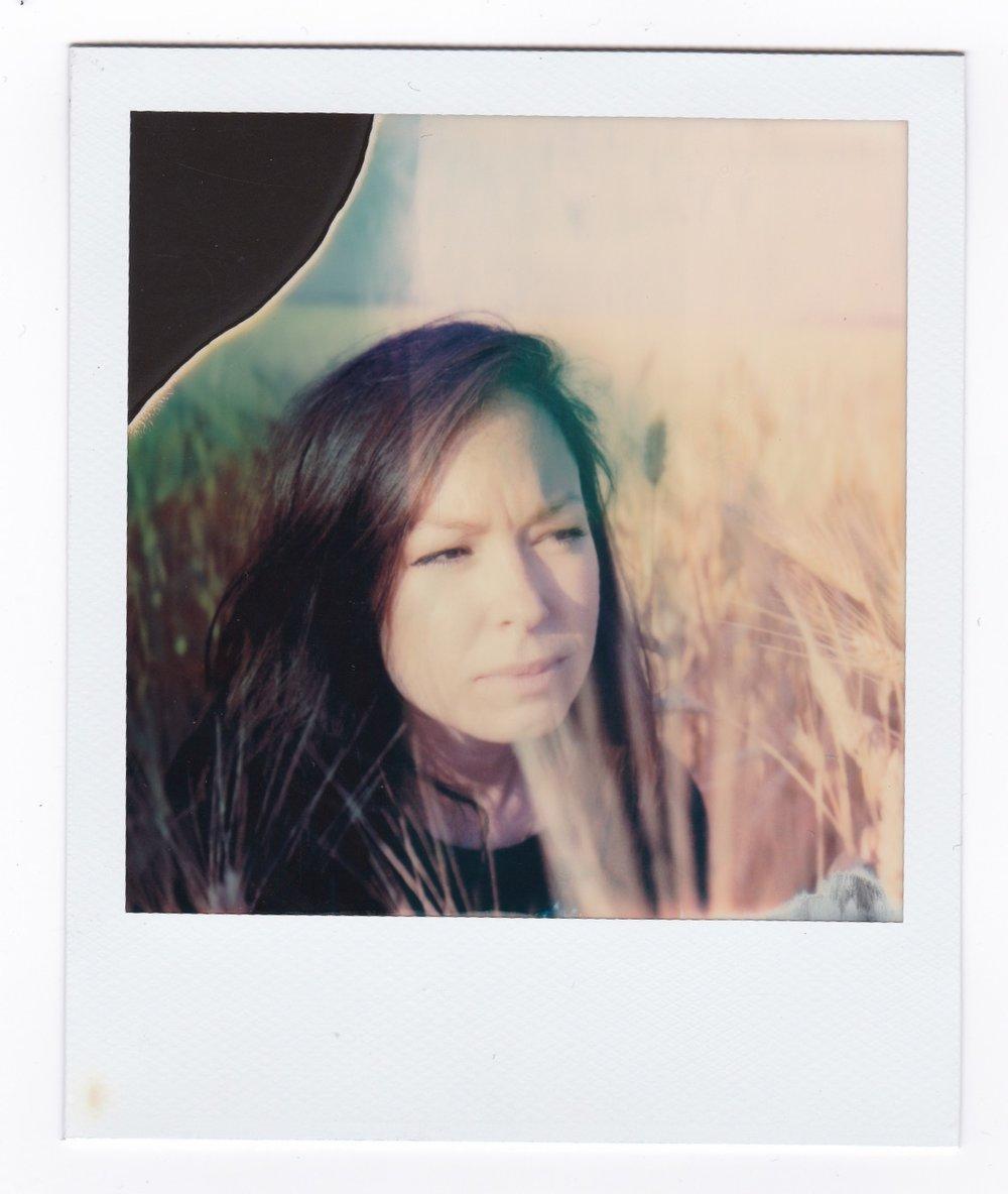 Ana ,  El Palmar  2018    Polaroid SX 70