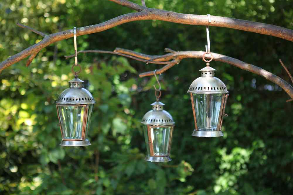 Glass Tealight Lanterns